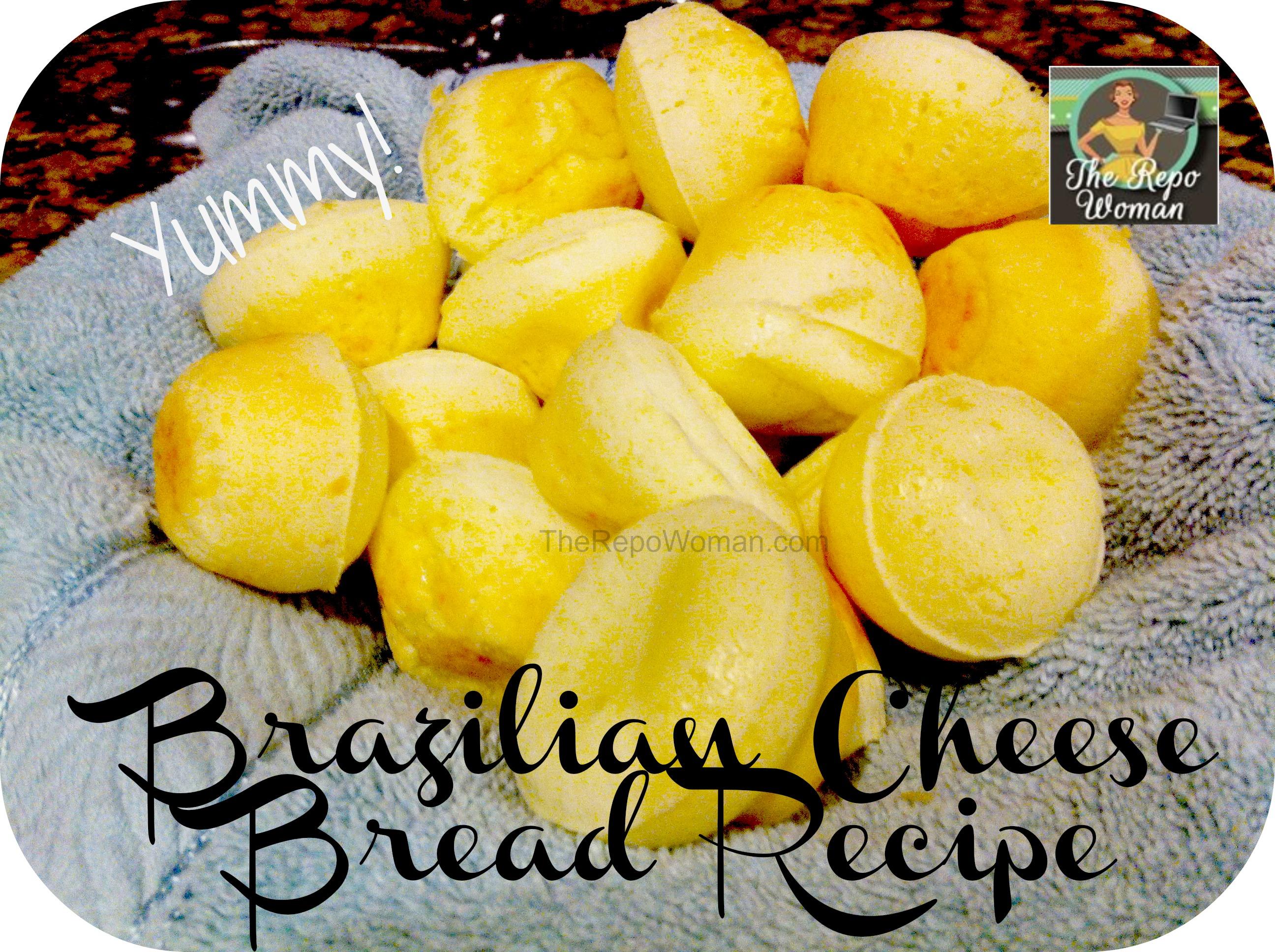Easy Gluten Free Brazilian Cheese Bread Recipe - The Repo ...