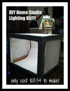 DIY Photo Studio Lighting Box