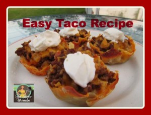 Easy Taco Pie Recipe!