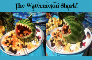 The Watermelon Shark!  Perfect addition to any party!
