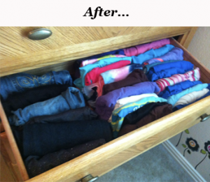 Kid Friendly Dresser Organization Tips!!!