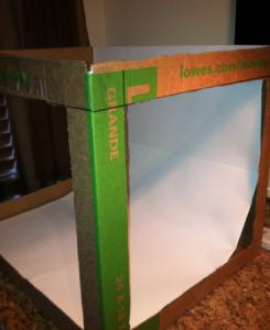 DIY Photo Studio Lighting Box