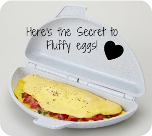 Super Fast Breakfast Idea!  Plus a Secret for Fluffy Eggs! Yummy!