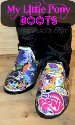 Do It yourself Comic Shoes