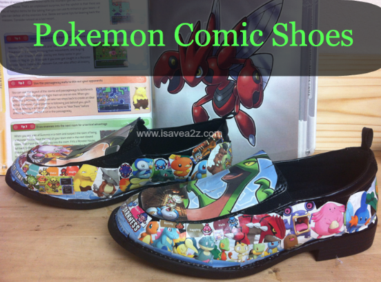 Do It Yourself Comic Strip Shoes