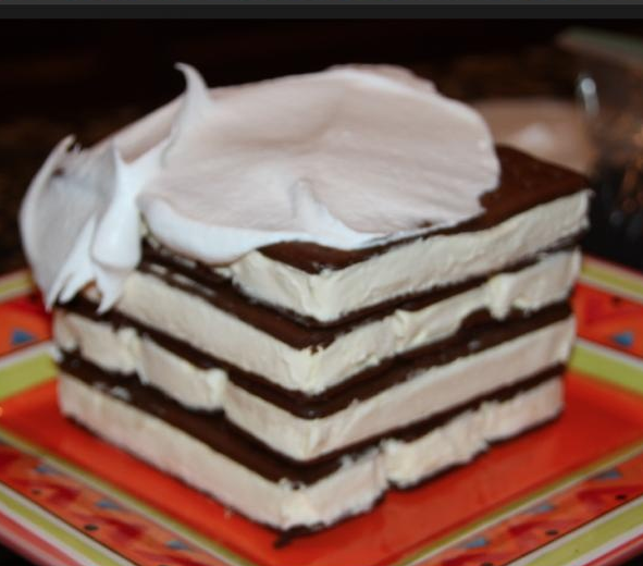 no bake ice cream sandwich cake recipe