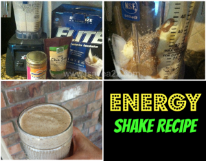 Energy Protein Shake Recipes  **Low Carb + High Protein**