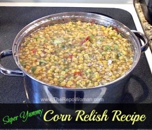 Homemade Corn Relish Recipe