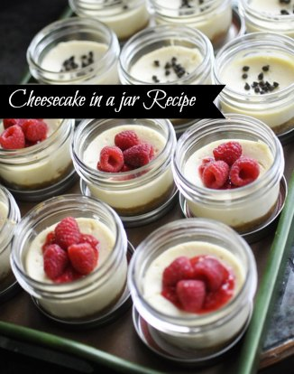 Best Cheesecake in a jar recipe