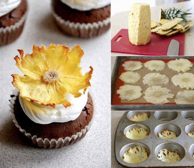 Do It Yourself Pineapple Flowers Tutorial