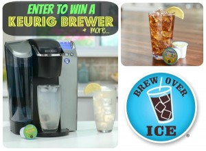 Keurig Coffee Maker Giveaway (Includes K-Cups and a Carousel too)!