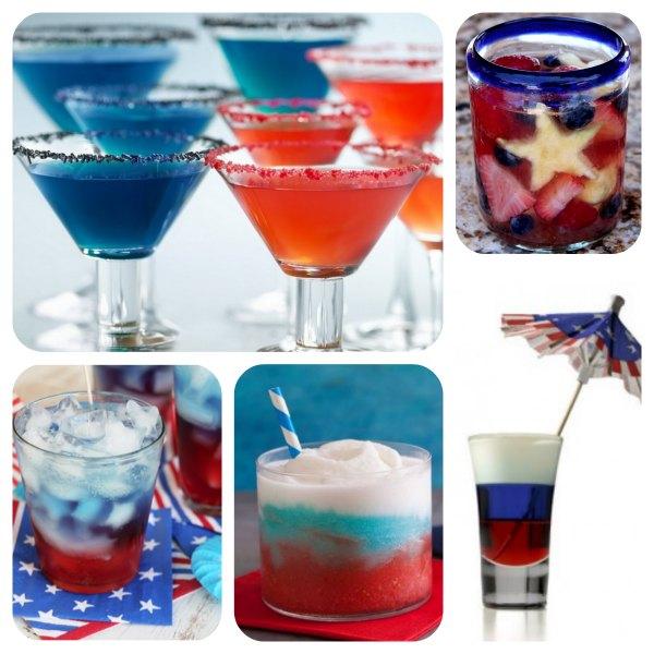 Patriotic Drinks: 4th of July Drinks