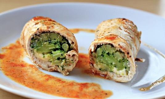 Broccoli Cheese Stuffed Chicken Recipe - The Repo Woman
