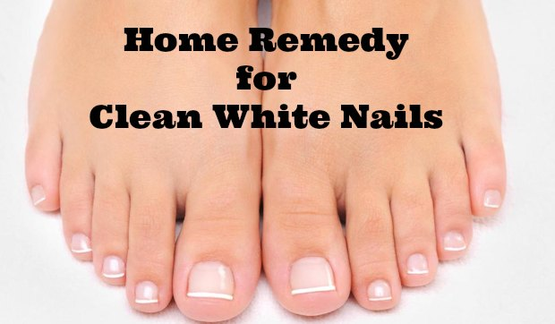 Home Remedy for Clean White Nails - The Repo Woman