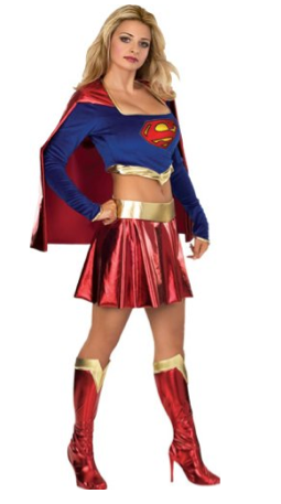 Supergirl Halloween Costume Idea
