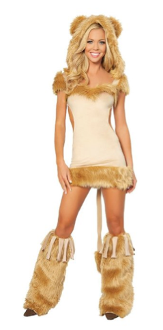 Lioness Halloween Costume Idea