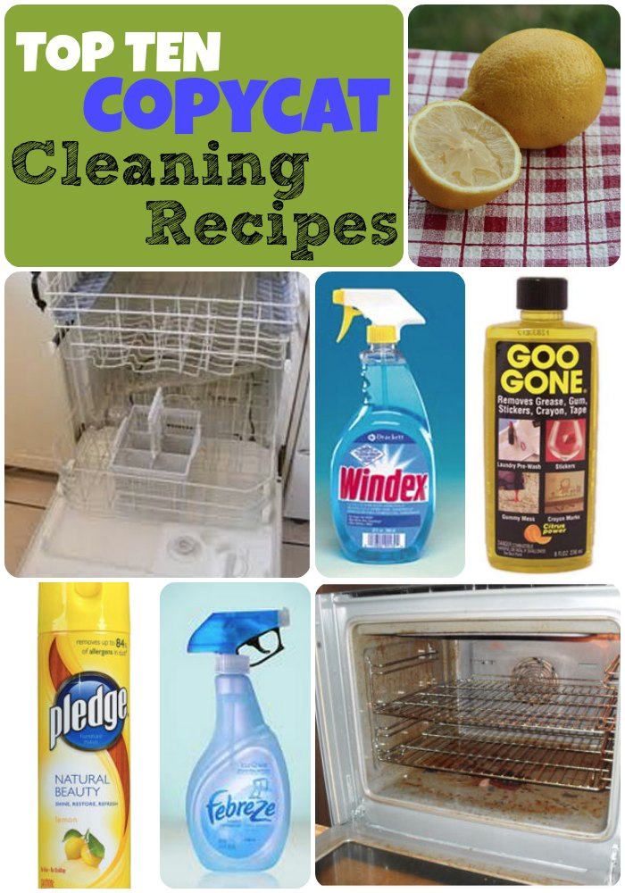 Top 10 Copycat Cleaner Recipes The Repo Woman